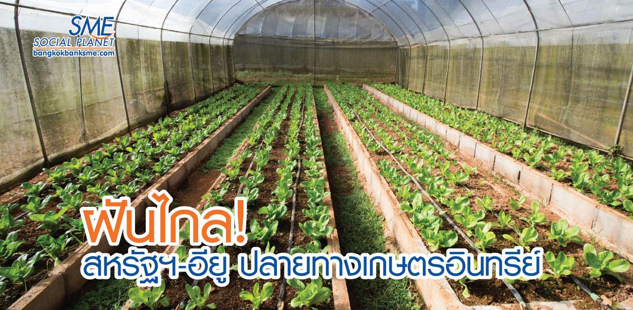 เกษตรอินทรีย์ ความท้าทายภาคเกษตรไทย