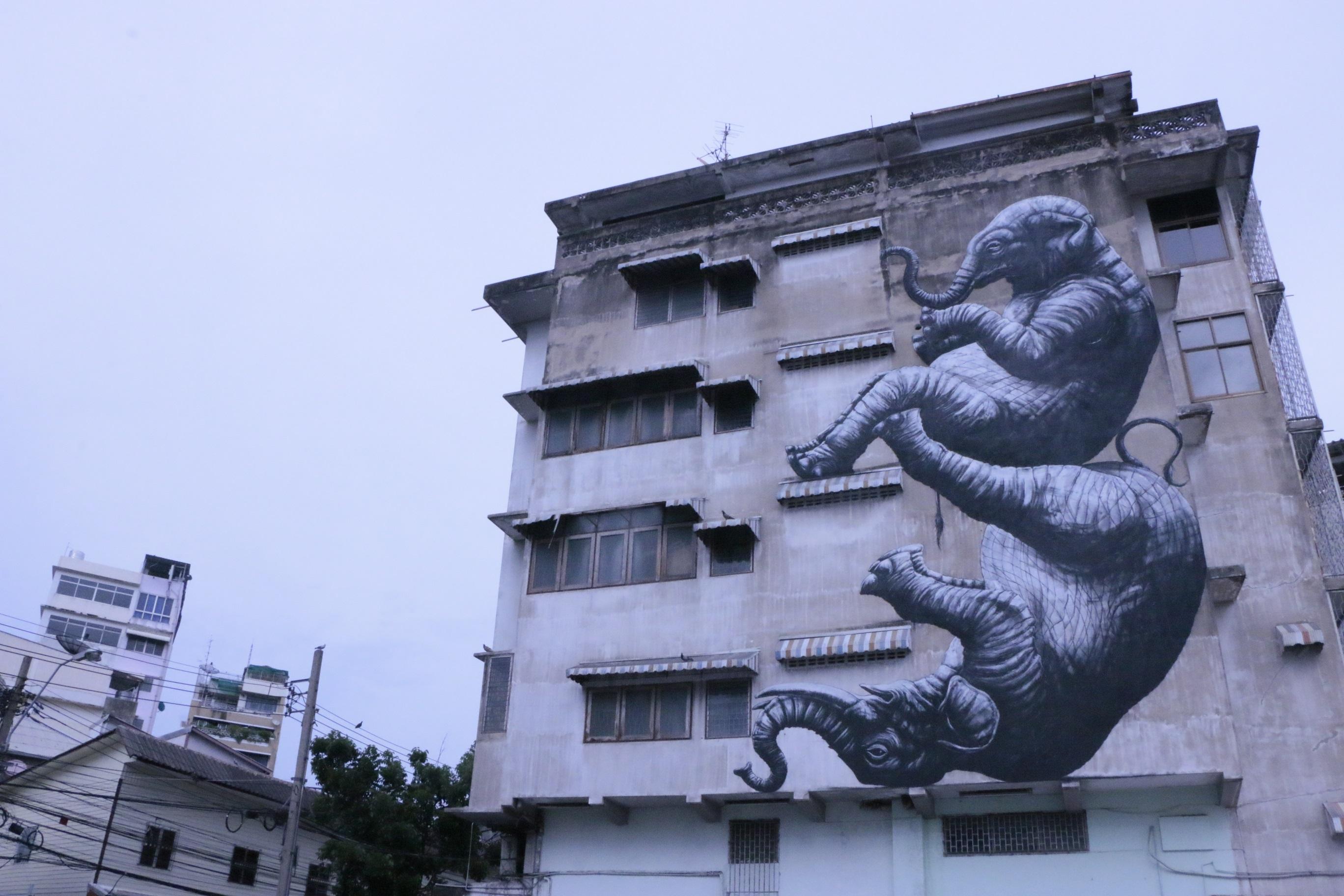 เที่ยวชม Street Art ศึกษาประวัติศาสตร์และวัฒนธรรมย่านเก่ากลางกรุง