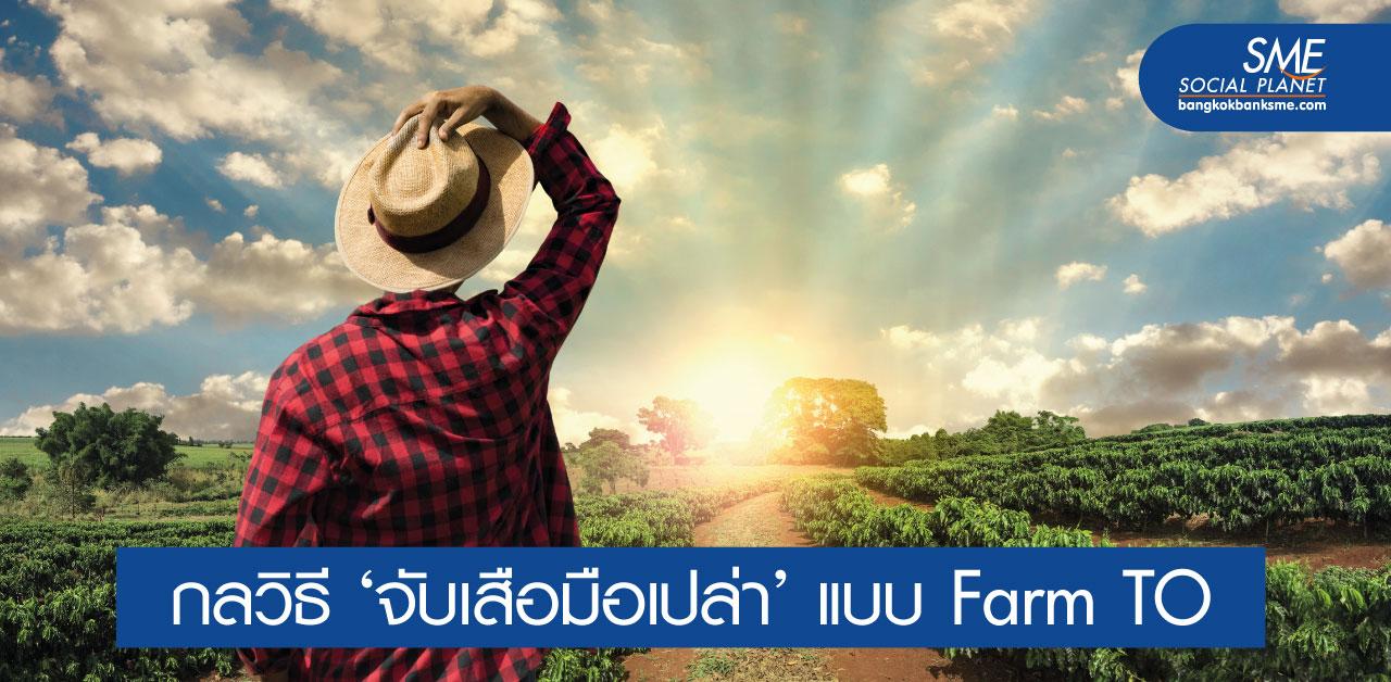 ถอดแนวคิด Farm TO ผู้ล่าฝันด้วยไอเดียบนกระดาษ